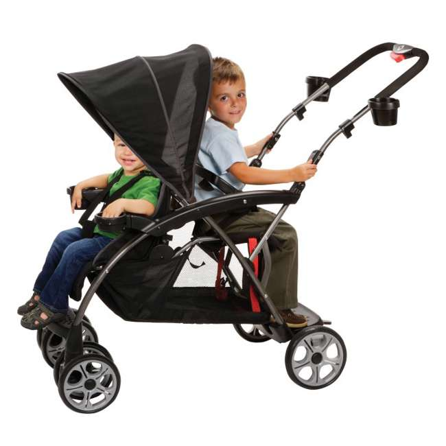 Safety 1st Stand Onboard Double Baby Stroller Classic
