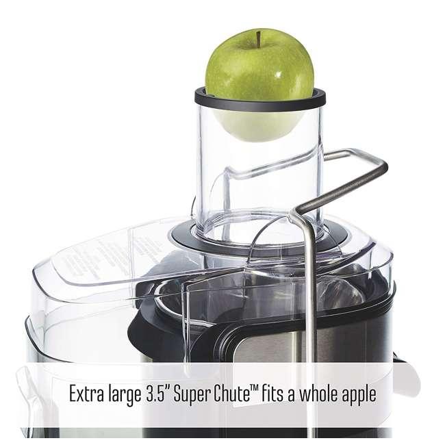 67902 Weston 67902 1,100 Watt 3.5 Inch Super Chute Fruit Extractor Automatic Juicer 3