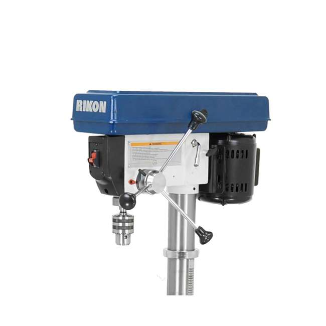 30-120 RIKON 30-120 13 Inch 7.5 Amp Benchtop Drill Press with Cast Iron Table, Blue 3