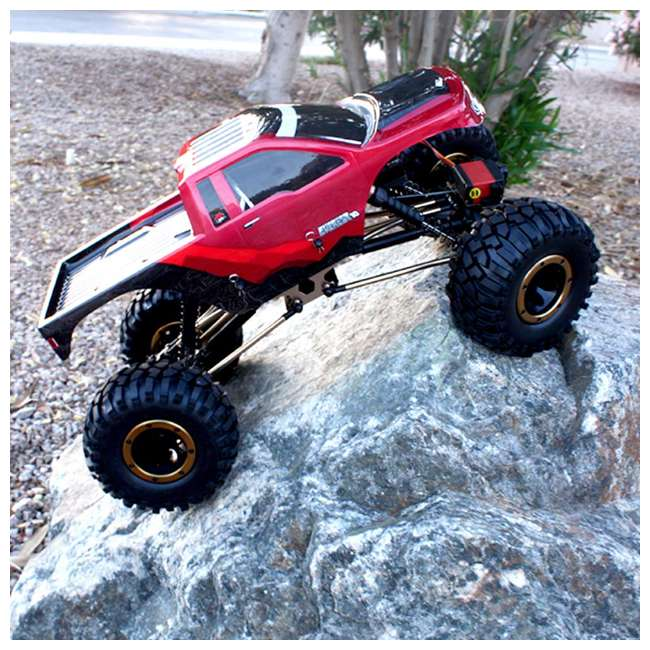 EVEREST-10-RedBlack Redcat Racing Everest-10 1:10 Scale Rock Crawler Electric RC Truck, Red/Black 4