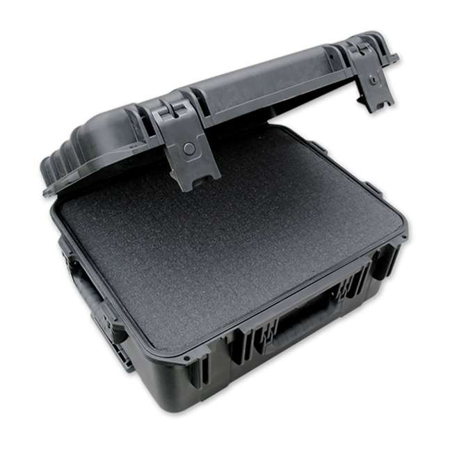 3i-1914-8B-C SKB iSeries 1914-8 Waterproof UV Impact Corruption Resistant Utility Case, Black 2