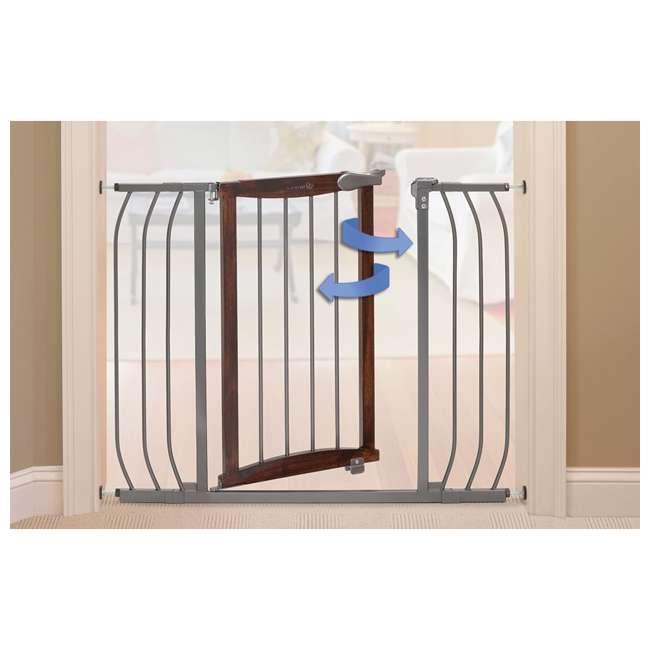 "27500A Summer Infant Anywhere Decorative Walk Thru Adjustable 42.5"" Baby Safety Gate 2"