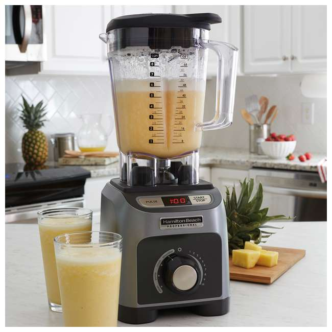 58850 + BABYFOODBLEND Hamilton Beach 4 Program 1800W 64 Oz Kitchen Blender & 175 Baby Food Recipe Book 4