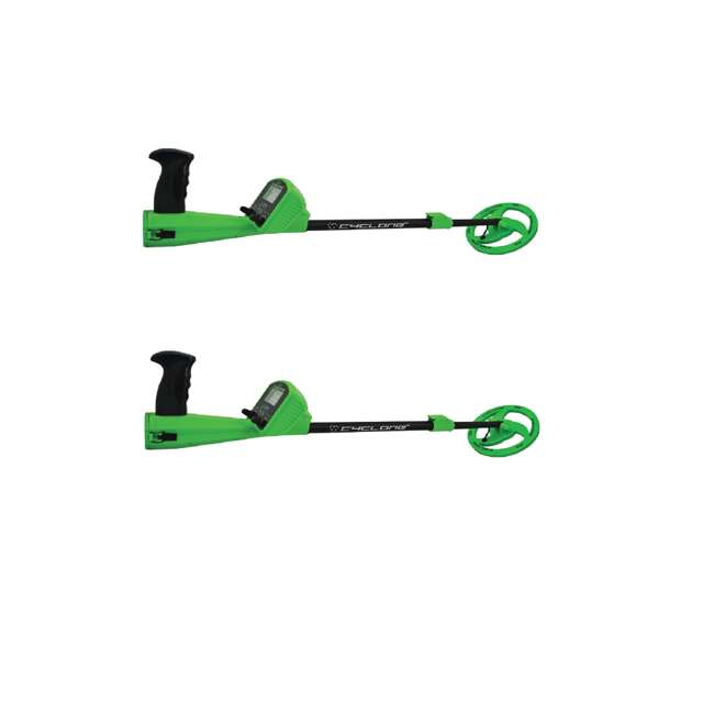 GEX-MC1 Wildgame Innovations Kids Adjustable Analog Metal Coin Detector, Green (2 Pack)