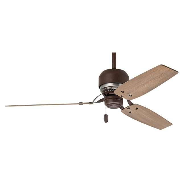 59499 Casablanca 59499 Tribeca 52 Inch 3 Blade Indoor Ceiling Fan, Industrial Rust