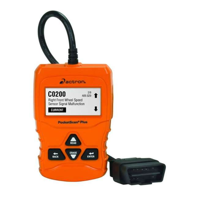 CP9660 Actron CP9660 PocketScan Plus ABS/OBDII and CAN Diagnostic Code Reader, Orange
