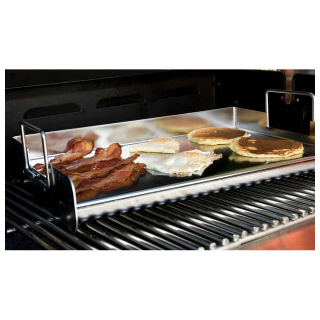 BOPA-24105 + BOPA-24118 Bull Flat Top Grill Griddle & Stainless Steel Grill Pans 3
