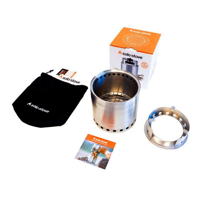 SSCF Solo Stove Campfire Portable Outdoor Wood Burning Camping Backpacking Camp Stove 2