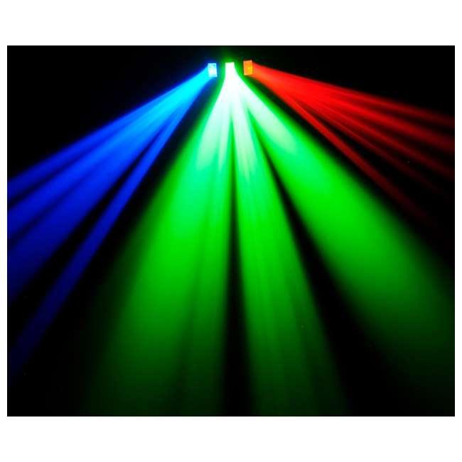 DERBY-X-RB Chauvet DJ Derby X 90-LED Rgb DMX-512 Strobe Light Pro Club Lighting Effect 8