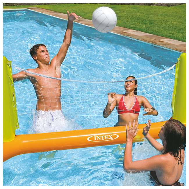 56508EP Intex Inflatable Floating Swimming Pool Toys Volleyball Game 1