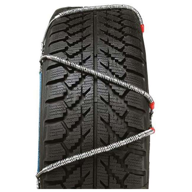 SZ131 Security Chain SZ131 Super Z6 Car Truck Snow Radial Cable Tire Chain (2 Pack) 2