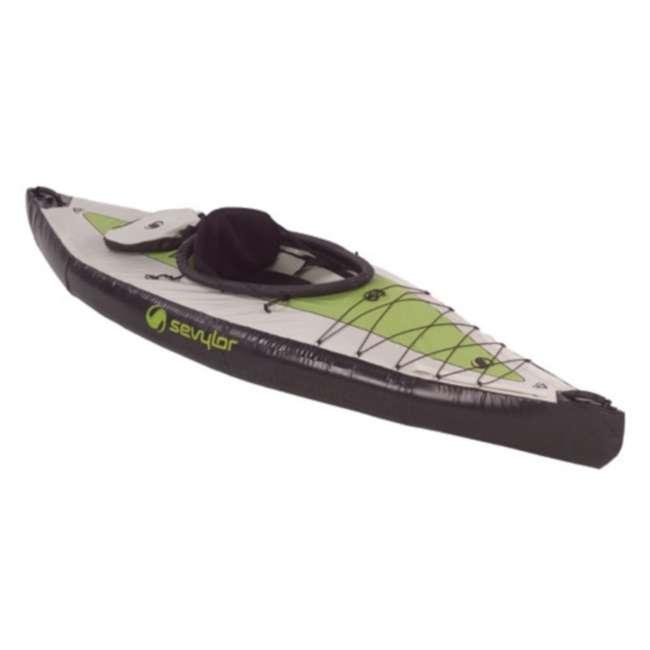 2000003419 Sevylor Pointer K1 Kayak - 1 Person Inflatable Kayak Canoe - 3419