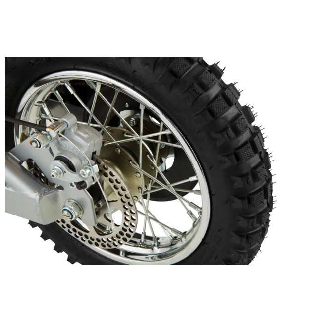 15165070 + 97775 + 96785 Razor MX650 Dirt Rocket Electric Moto Bike with Helmet, Elbow & Knee Pads 8