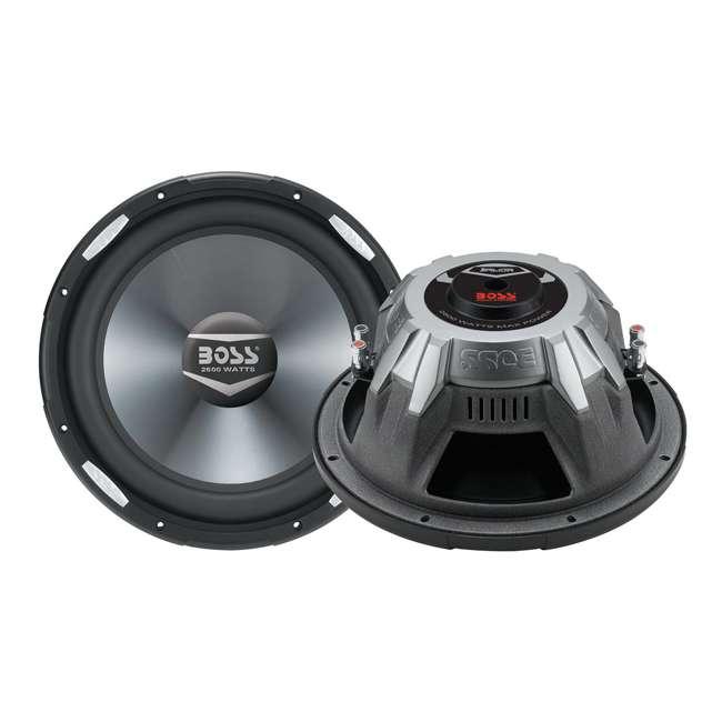 AR15D Boss AR15D 15-Inch 5200W Dual 4-Ohm Subwoofers (Pair)