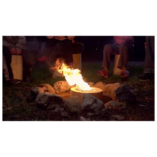 TBT-1002 TimberTote Large 12x8 Inch One Log Campfire Camping Cooking Camp Fire Wood Log 4