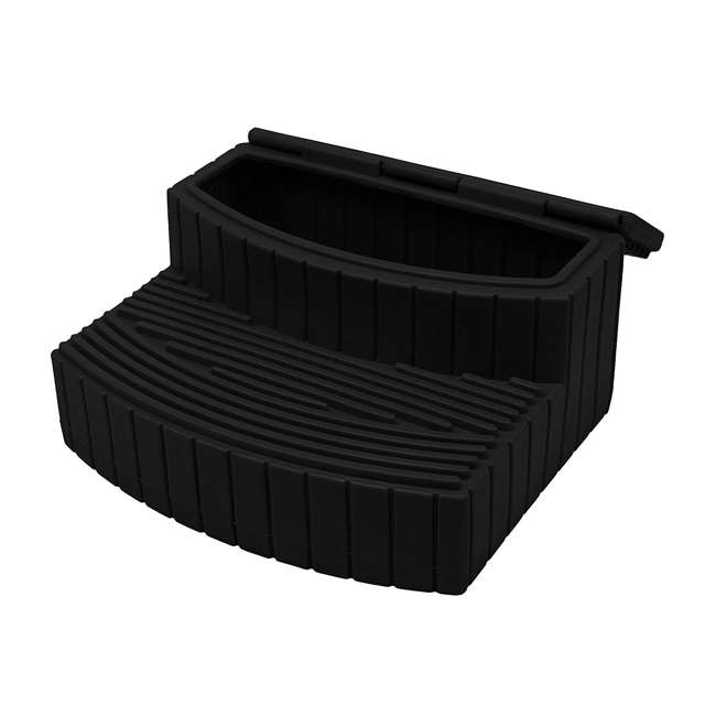 SSTEP-BLK Good Ideas Sora Steps Lightweight Plastic Outdoor & Indoor Storage Step, Black 1