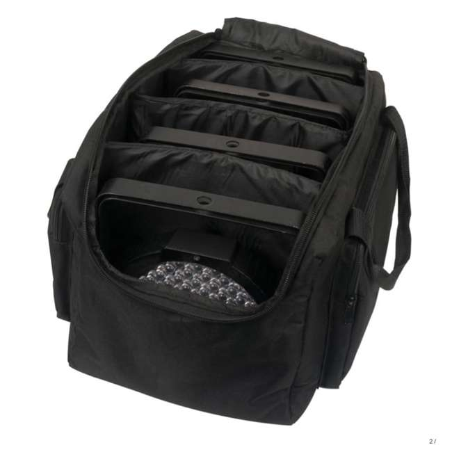 F4PAR-BAG (2) American DJ Slim Par & Pocket Spot/Roll/Scan Light Cases | F4 Par Bag 2