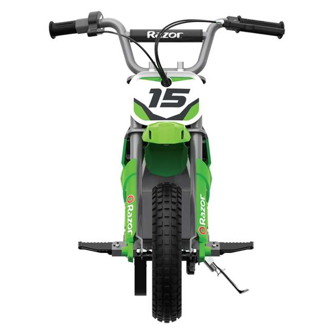 15128030 + 97775 + 96785 Razor Dirt Rocket MX400 Electric Moto Bike with Helmet, Elbow & Knee Pads 3