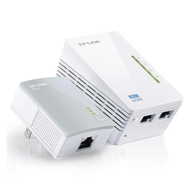 TPL-TL-WPA4220KIT TP-Link 300Mbps Wi-Fi Range Extender AV500 Powerline Starter Kit (2 Pack) 2