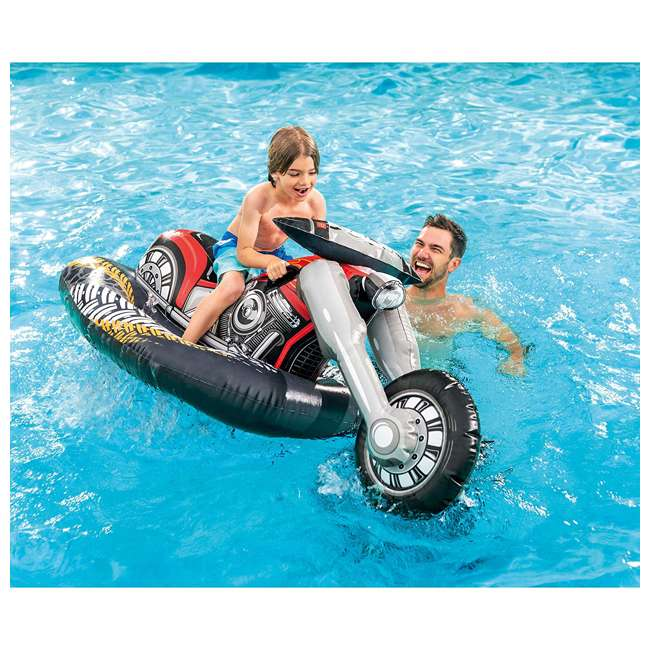 57534EP Intex 57534EP Cruiser Motorcycle Inflatable Ride-On Pool Float Toy for Ages 3+ 1