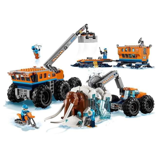 6212400-U-A Lego City Arctic Mobile Exploration Base Toy Set for Children, Blue (Open Box) 2