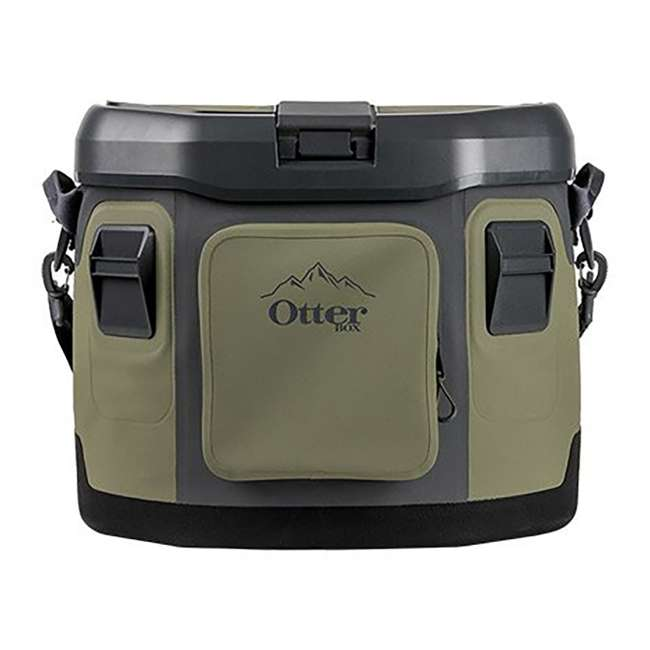 77-57016 OtterBox 20-Quart Softside Trooper Cooler with Carry Strap, Alpine Ascent Green