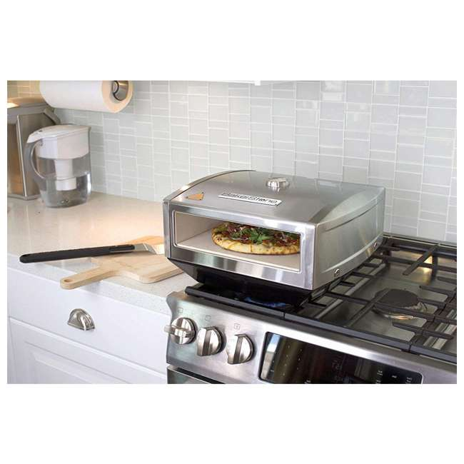 OS-ABDXX-O-SSS-U-A BakerStone Gas Stove Top Pizza Cooking Oven Box w/ Peel & Turner (Open Box) 2