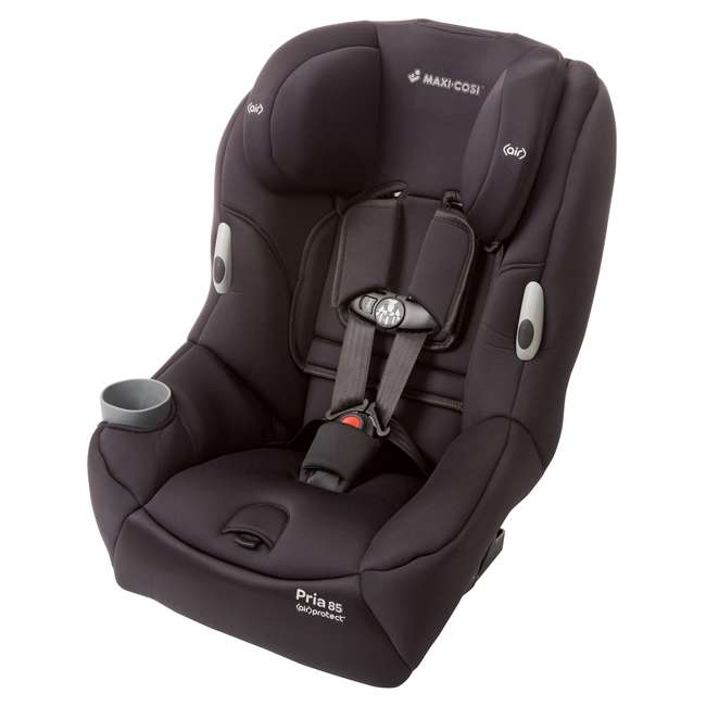 CC121BIZ Maxi-Cosi Pria 85 Convertible Car Seat, Devoted Black (2 Pack)