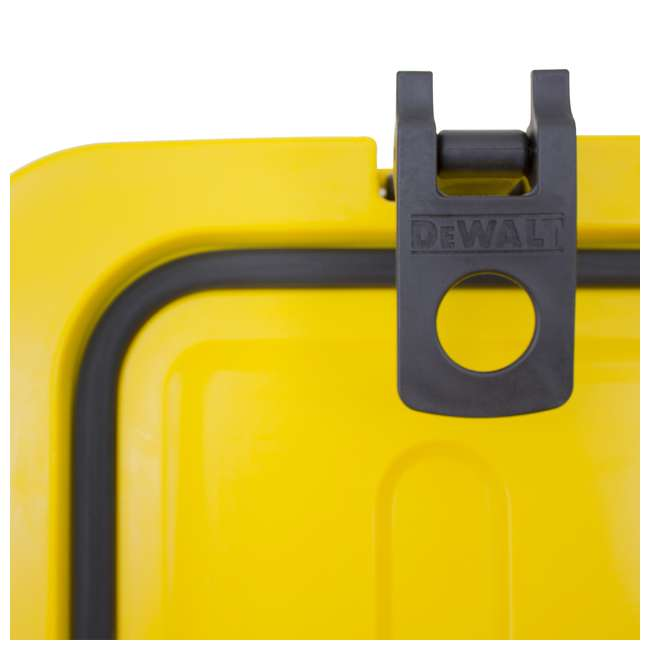 DXC65QT DeWalt 65-Quart Insulated Lunch Box Portable Drink Cooler, Yellow 7