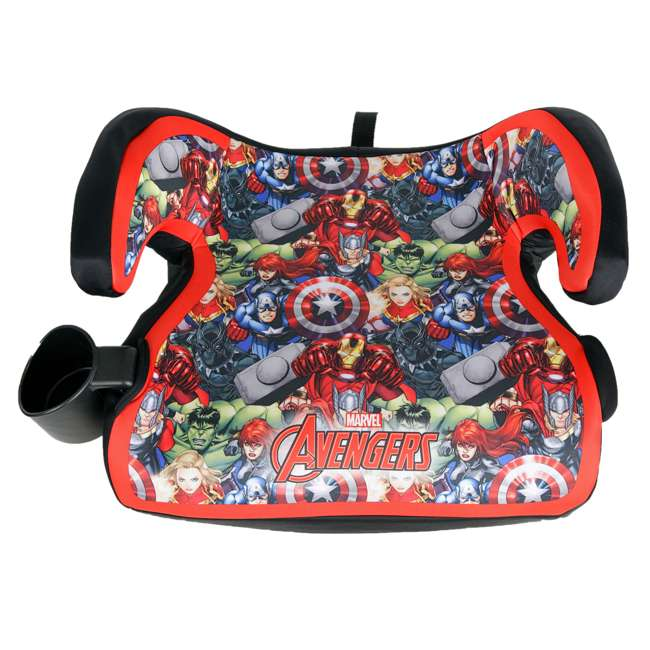 KE-4801AVG Kids Embrace Marvel Avengers Backless Booster Car Seat for Kids 4 Years and Up 2