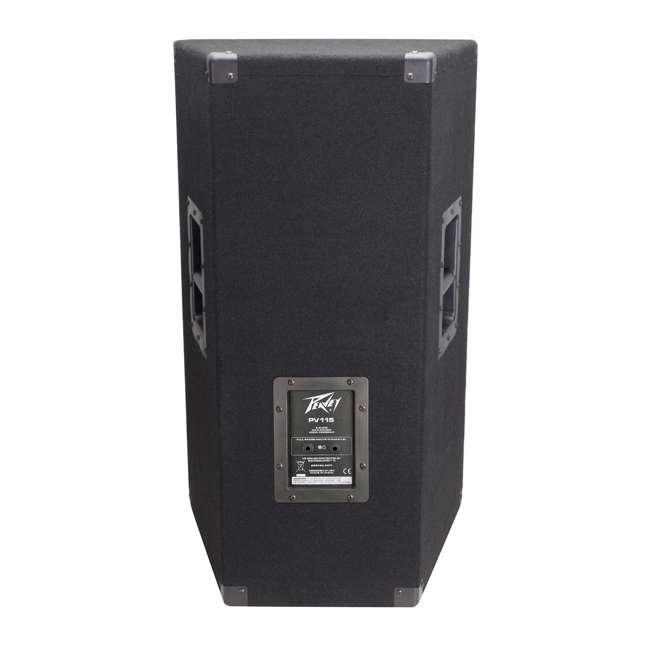 PV-115 + 2 x PSTND3 Peavey 15-Inch 2-Way 800-Watt Speakers (Pair) + Pyle 58-Inch Speaker Poles (Pair) 4