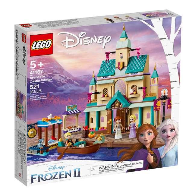 6251057 LEGO 41167 Frozen II Arendelle Castle Village Block Building Kit w/3 Minifigures 1
