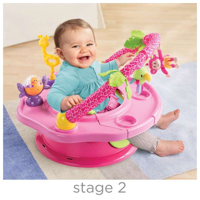 13305C Summer Infant 3-Stage SuperSeat Deluxe Giggles Island Booster and Activity Seat 5