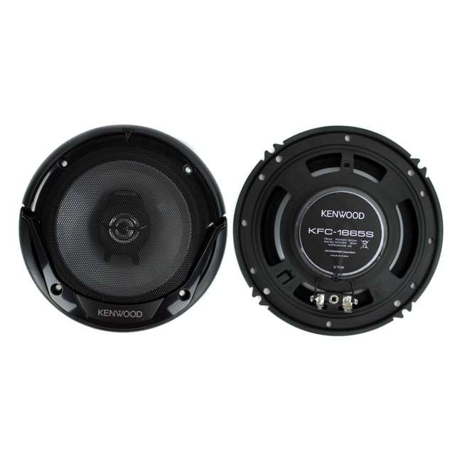 KFC-1666S Kenwood KFC-1665S 6.5-Inch 300W Speakers (4-pack) 1