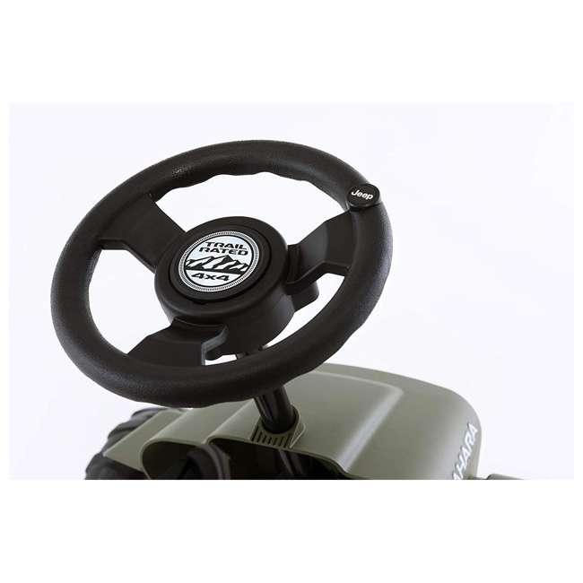 24.30.12.00 BERG Toys Jeep Buzzy Sahara Pedal Powered Kids Adjustable Go Kart 5