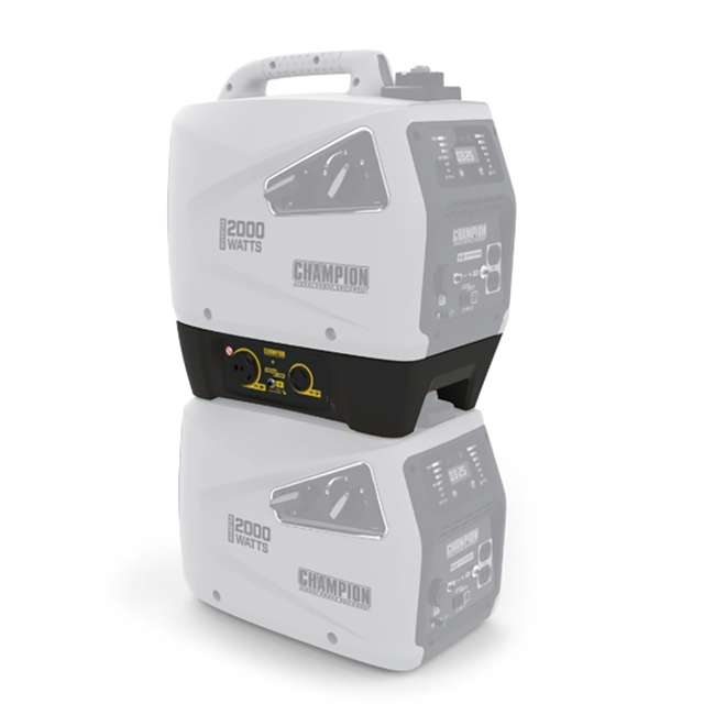 CPE-AC-100468 Champion Power Equipment 100468 30-Amp ParaLINK Generator Parallel Kit, Black 1