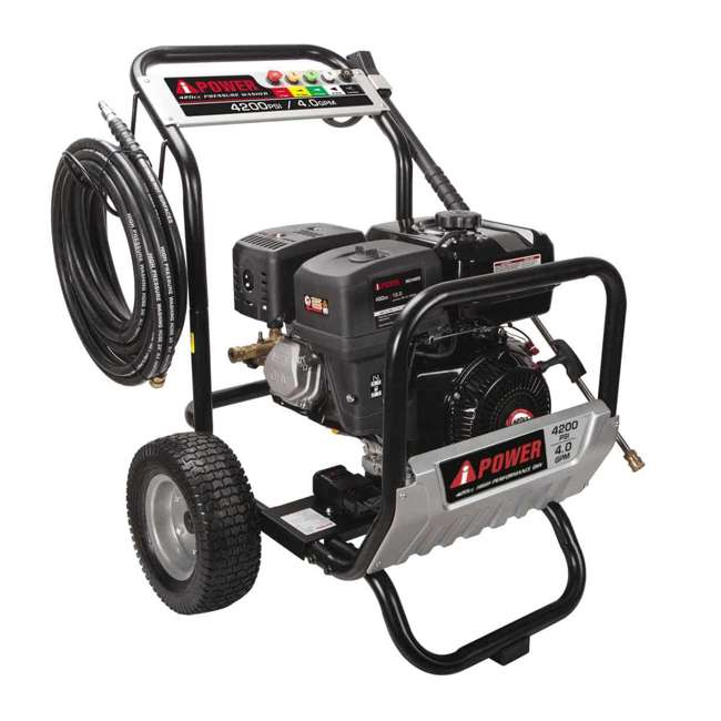 APW4200 A-iPower APW4200 4,200 PSI at 4.0 GPM Pump Pressure Washer 1