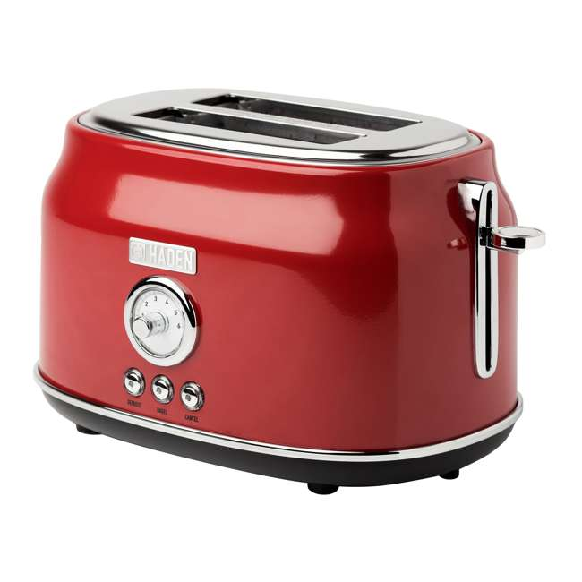 75000 + 75001 Haden Stainless Steel Retro Toaster & 1.7 Liter Stainless Steel Electric Kettle 2