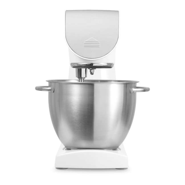 STM40WH-NAB1 Sencor STM40WH 8 Speed 4.7 Quart Stand Mixer with Beater and Dough Hook, White 1