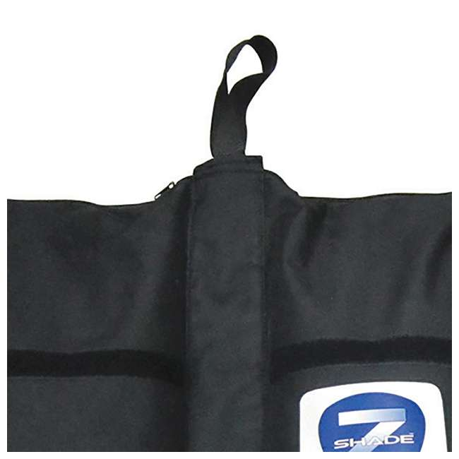 ZS2010EVRWH + ZSHDSK4 + ZSHDWB4 Z-Shade Canopy & 4-Pack Stake Kit & Leg Weight Bags  11