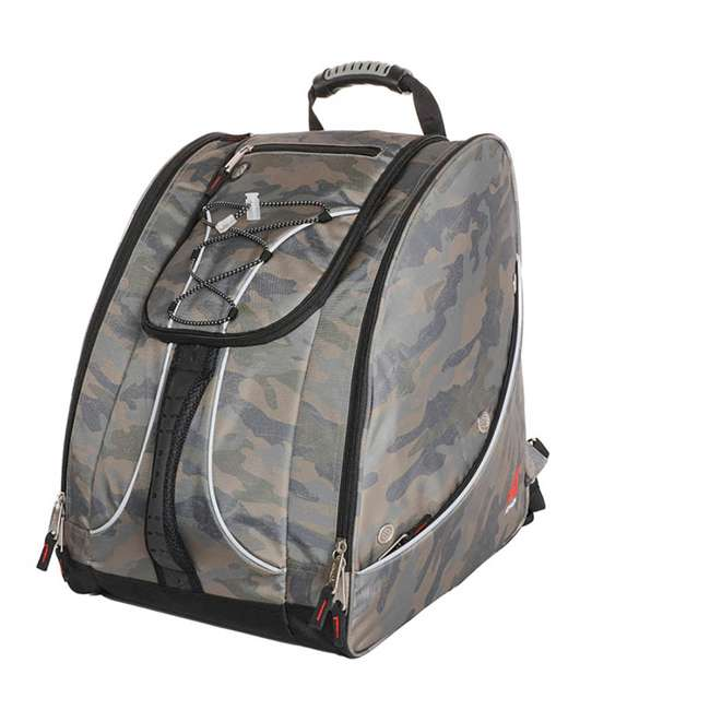 330CAMO Athalon Everything Travel Ready Camping and Hiking Boot Bag Backpack, Camouflage