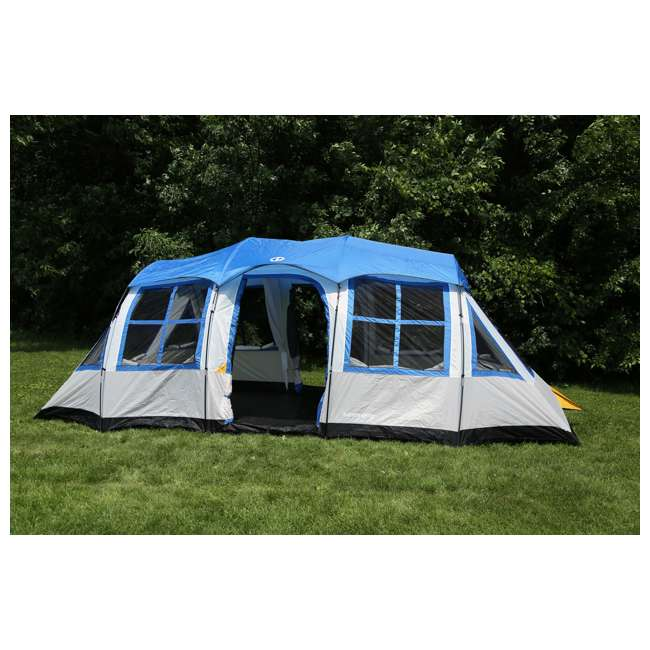 DT201080-1 Tahoe Gear Prescott 12 Person 3-Season Family Cabin Camping Tent - Open Box 1