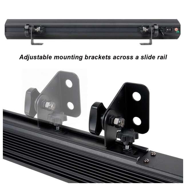 ECO-UVBAR-50-IR (2) American DJ Eco UV Bar 50 IR LED Light Fixtures w/ Remotes 4