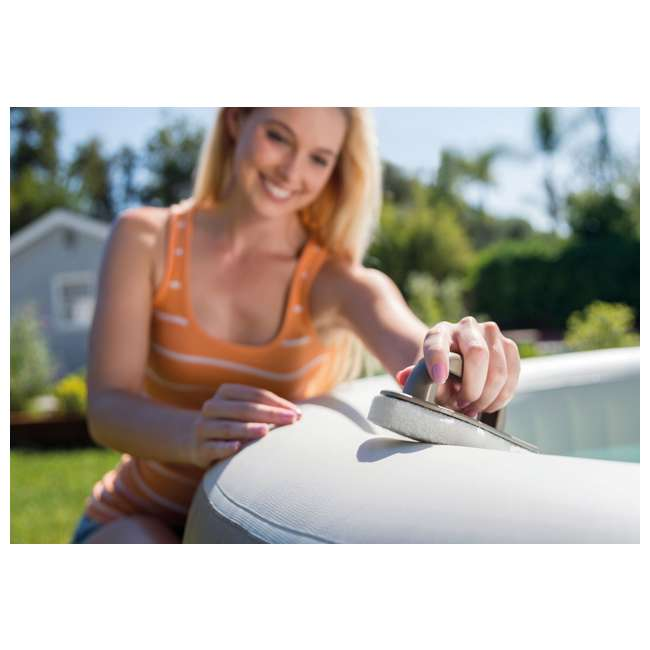 28403E + 28004E + QLC-14890 Intex PureSpa Inflatable Spa, Accessory Kit, & Chemical Kit 11