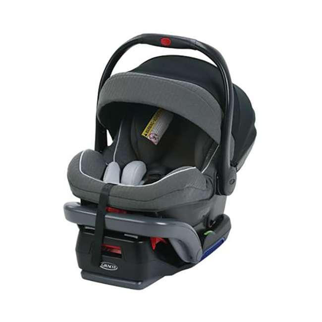 1992042 Graco SnugRide SnugLock 35 Platinum Infant Car Seat (2 Pack) 1