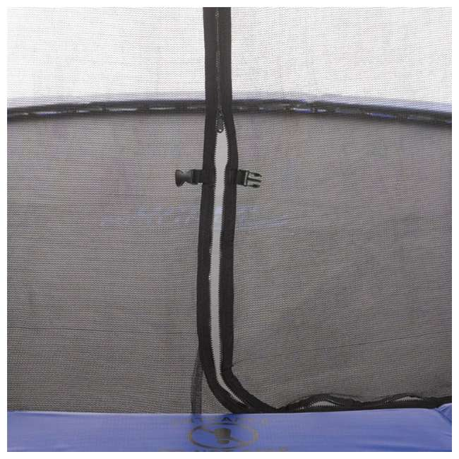 UBSF02-8-U-B Upper Bounce Skytric 8 Ft Easy Assemble Trampoline with Top Ring Enclosure(Used) 3