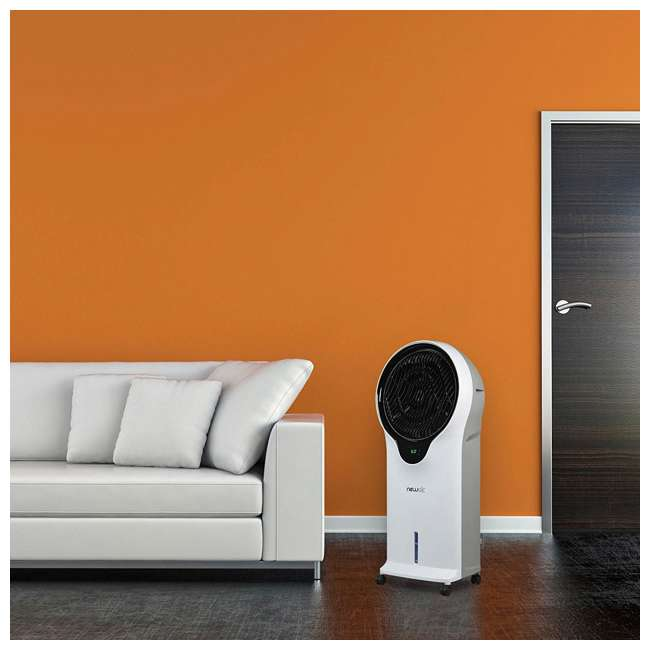 EC111W NewAir Portable Air Conditioner Evaporative Cooler Tower Fan with Remote, White 3