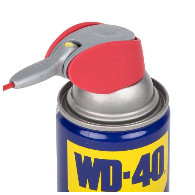 WD-490027 WD-40 Multi Use Product Multi Surface Spray Lubricant with Smart Straw, 8 Ounce 2