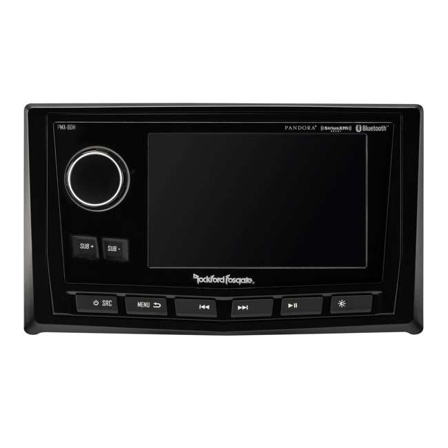 """PMX-8DH Rockford Fosgate Punch Marine Full-Function Wired 5"""" Controller 2"""