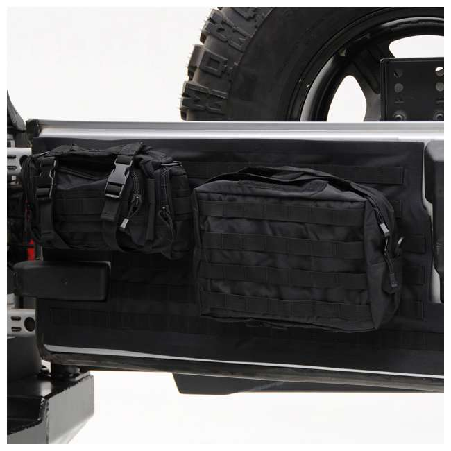 5662301-SMITTYBILT Smittybilt GEAR 2007-2016 Jeep Storage Bag Tailgate Cover 2